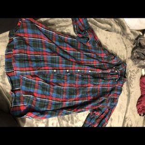 Tops - ralph lauren flannel